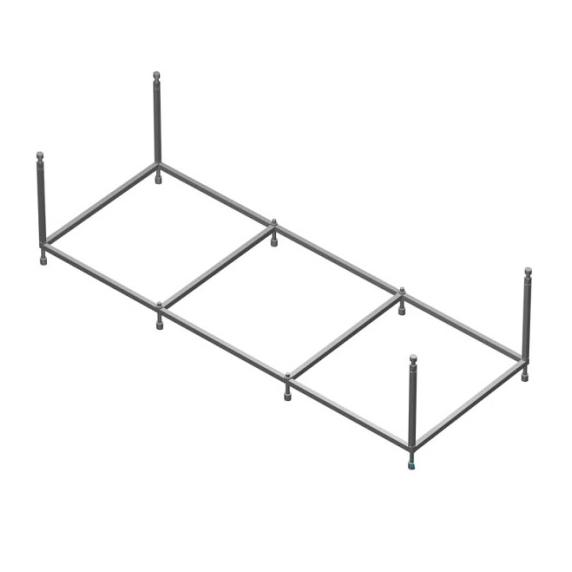 Монтажный набор для ванны170x80 Roca BeCool ZRU9302853