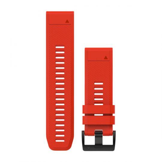 Ремешок сменный QuickFit 26мм Силиконовый красный