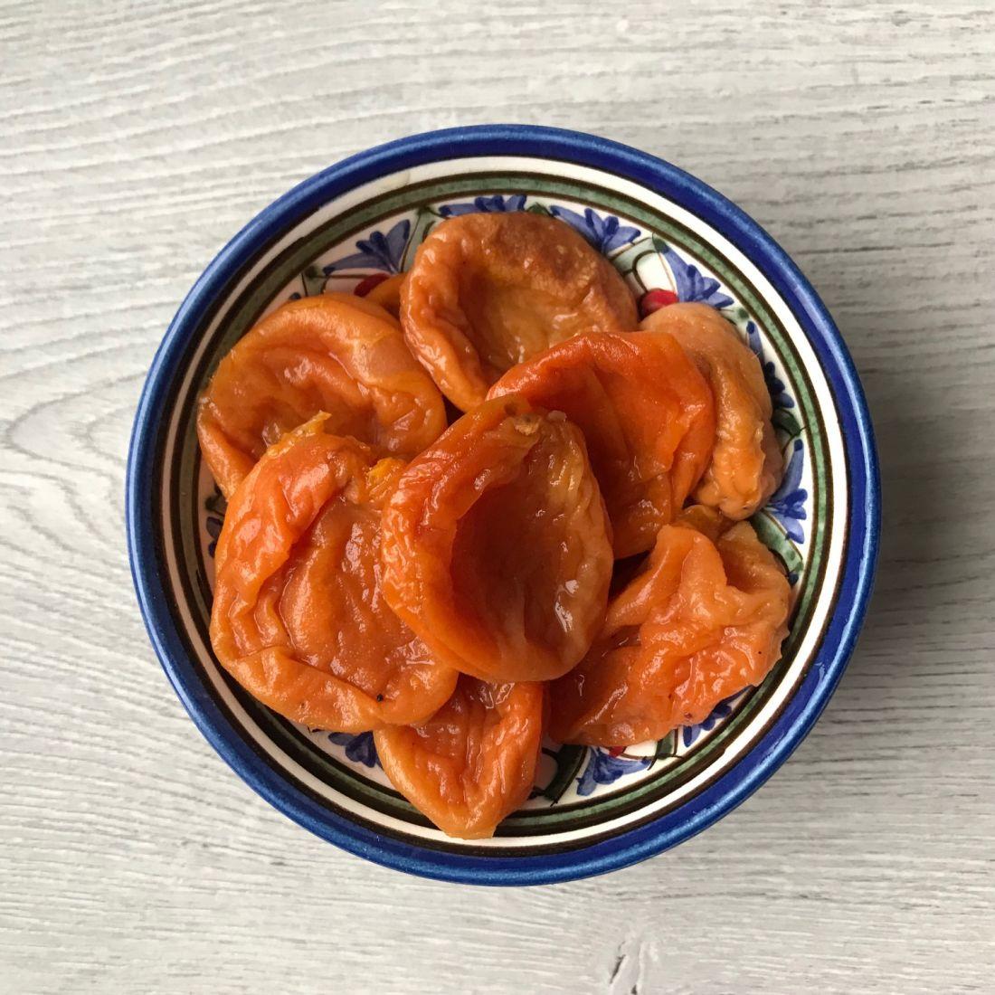 Курага кисло-сладкая высший сорт, Узбекистан - 500 гр