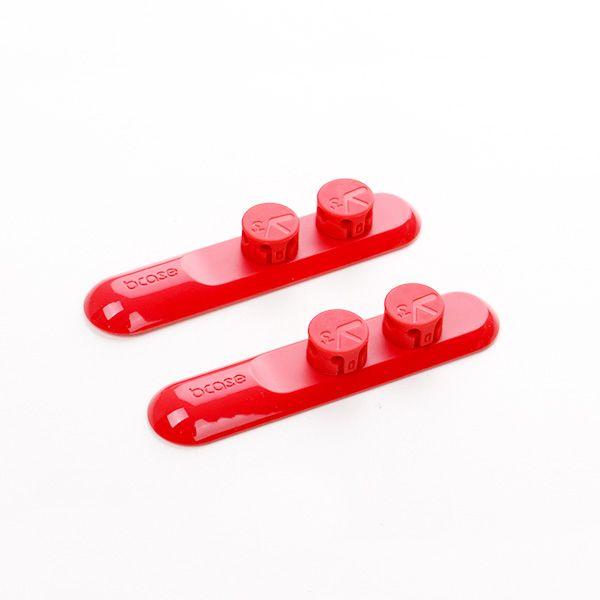 Держатель для проводов BCASE TUP 3 (Красный)