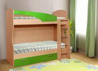 Кровать двухъярусная + Матрас в Подарок