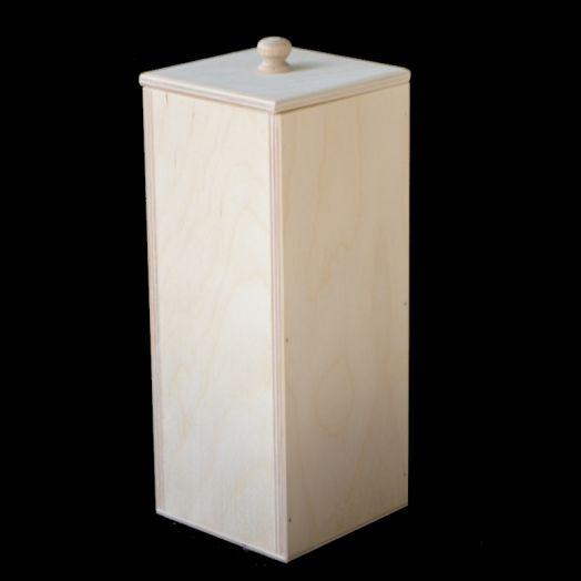 Короб для сыпучих продуктов высокий, 10*10*25 см