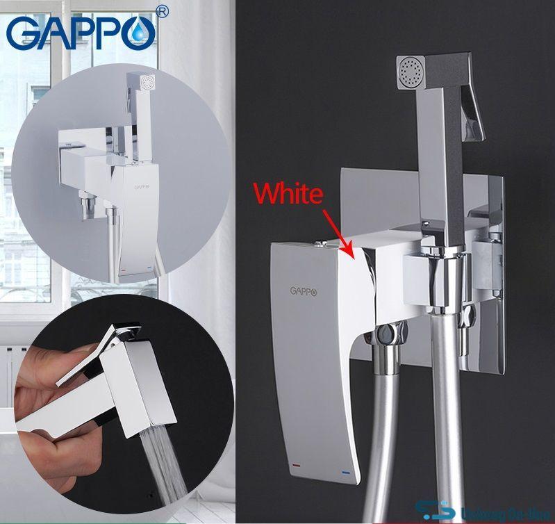 Смеситель с гигиеническим душем Gappo Jacob G7207-8