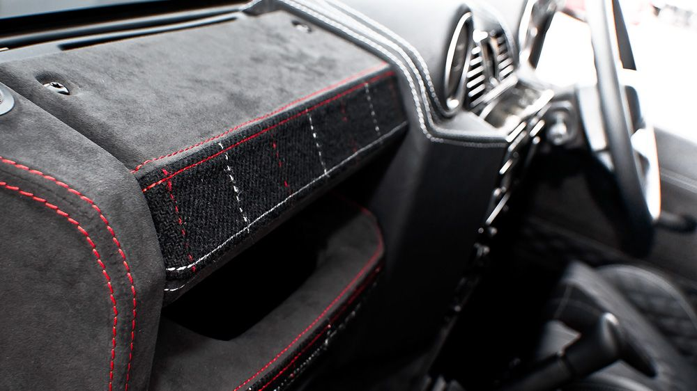 Обшивка части торпеды пассажира (Land Rover Defender)
