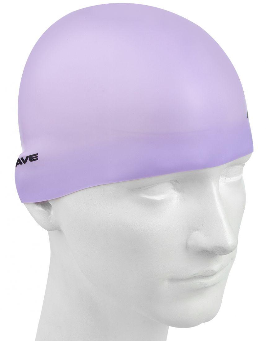 Шапочка для плавания силиконовая Mad Wave Pastel Silicone Solid