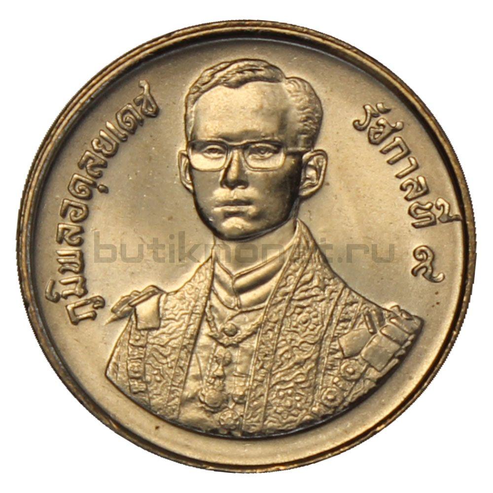 2 бата 1987 Таиланд 60 лет со дня рождения Короля Рамы IX
