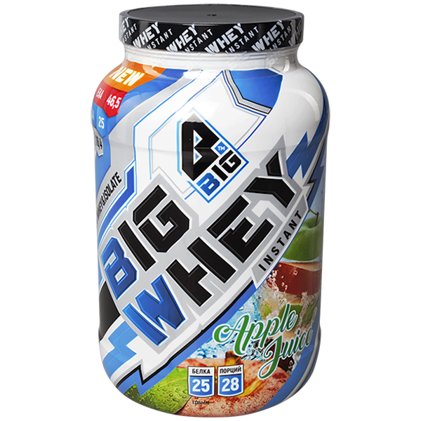 BIG Whey Сывороточный протеин 900 гр.