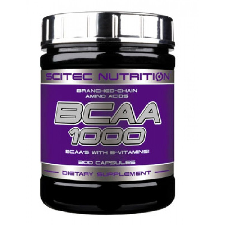 BCAA 1000 от Scitec Nutrition 300 кап