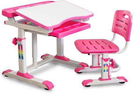Комплект Mealux BD-09: парта + стульчик + подставка для книг