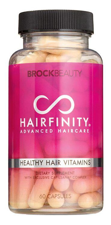 Hairfinity Healthy Hair Vitamins Витамины для волос, 60 капсул_