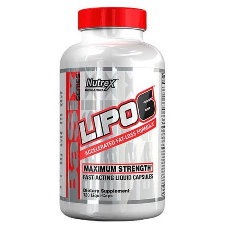 Lipo-6 от Nutrex 120 капсул