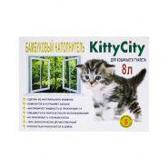Kitty City наполнитель бамбуковый комкующийся 8л