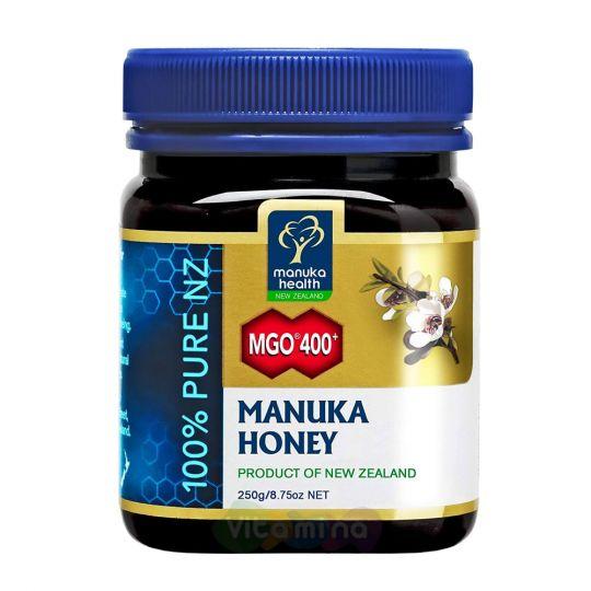 Мед Манука MGO 400+ Manuka Honey, 250г