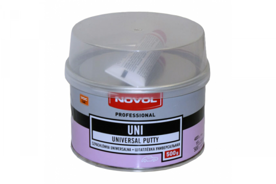 Шпатлёвка универсальная UNI Novol 1101 0.5кг