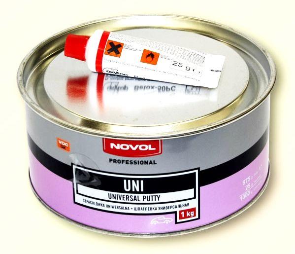 Шпатлёвка универсальная UNI Novol 1103 1кг