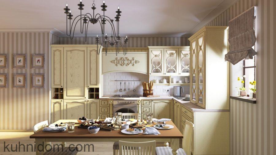 Кухня Стефания Бежевая
