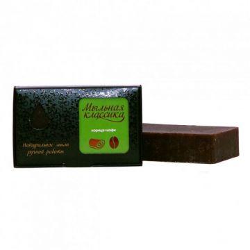 Натуральное мыло ручной работы Кофе - корица, 100 гр