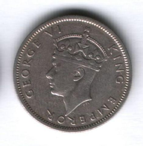 1 шиллинг 1939 года Южная Родезия, редкий год