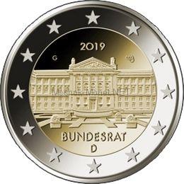 Германия 2 евро 2019, Бундесрат