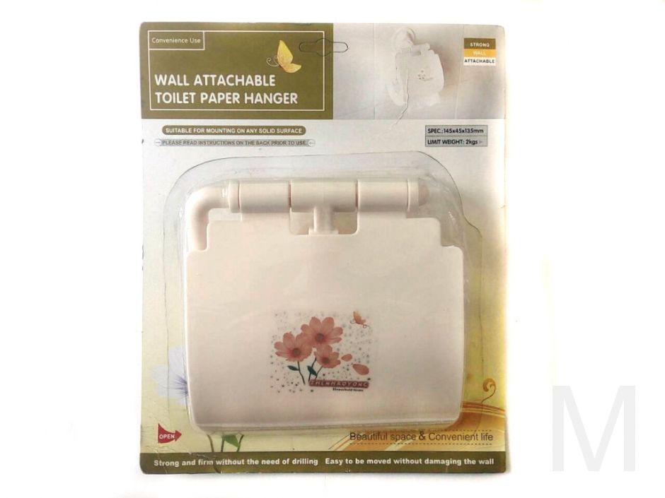 Держатель туалетной бумаги WALL ATTACHABLE TOILET PAPER HANGER