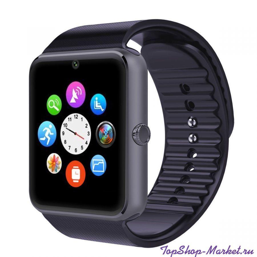 Часы Smart Watch KingWear GT08, Цвет: Чёрный