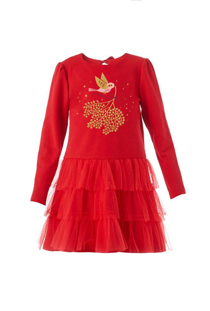 Платье для девочки Мимоза