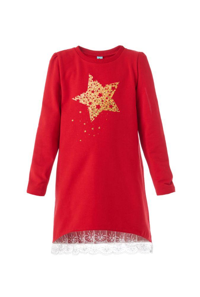 Платье для девочки Звезда