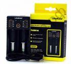 Заряд. уст-во для 2 аккум.18650 и подобных + R03 и R6 LiitoKala Lii-202 выбор тока заряда