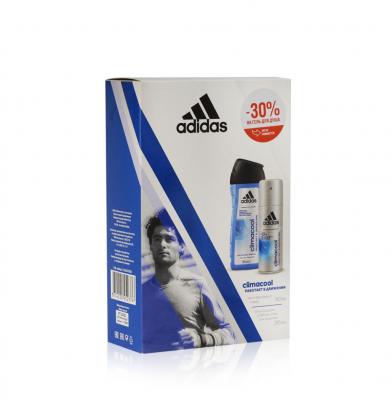 Adidas Climacool Подарочный набор мужской Гель для душа 250 мл + Дезодорант-антиперспирант 150 мл
