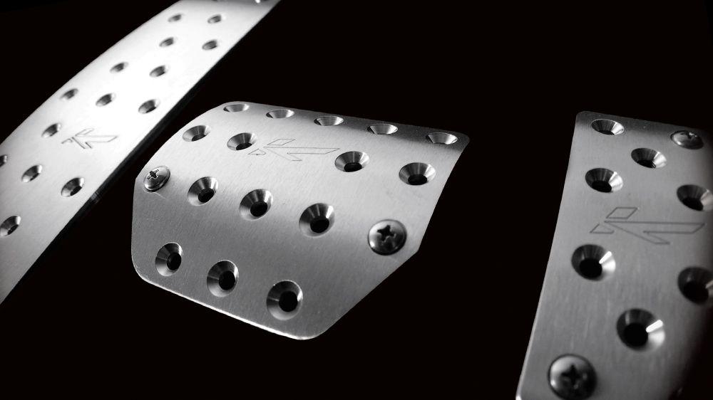 Алюминиевые педали (Land Rover Discovery 4)