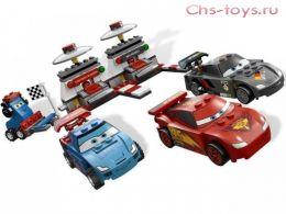 Конструктор Bela Let's Go Крутой гоночный набор 10012 (Аналог Lego Cars 2 9485) 279 дет