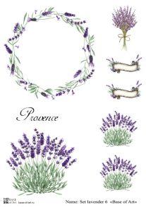 Set lavender 6