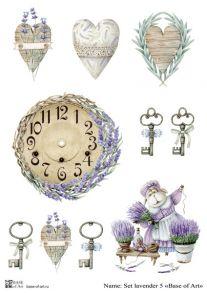 Set lavender 5