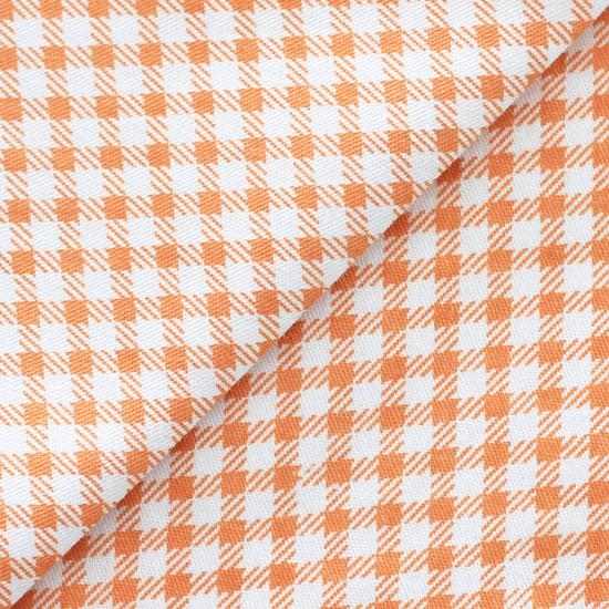 Ткань 50х40 Оранжевая клетка