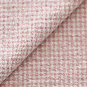 Ткань 50х40 Розовая клетка