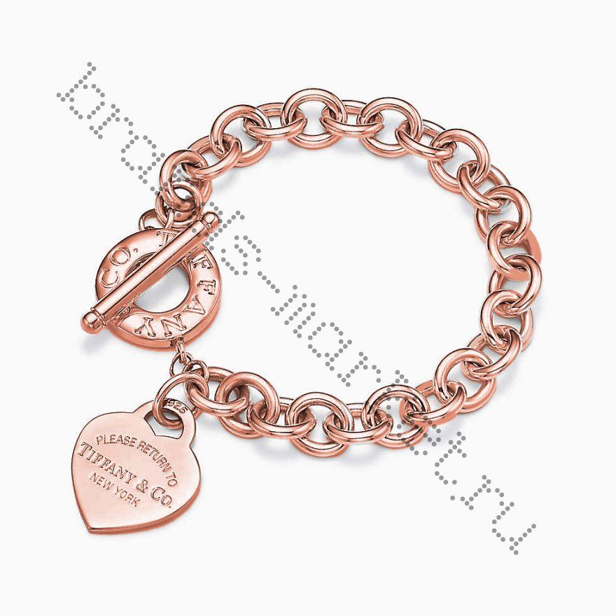Браслет Return to Tiffany™ Розовое золото
