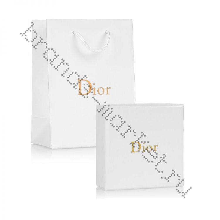 Коробка + пакет Dior для украшений