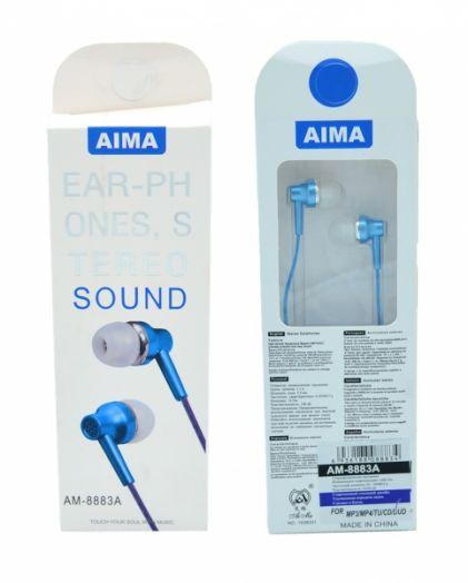 AIMA 8883A наушники вакуум гарнитура