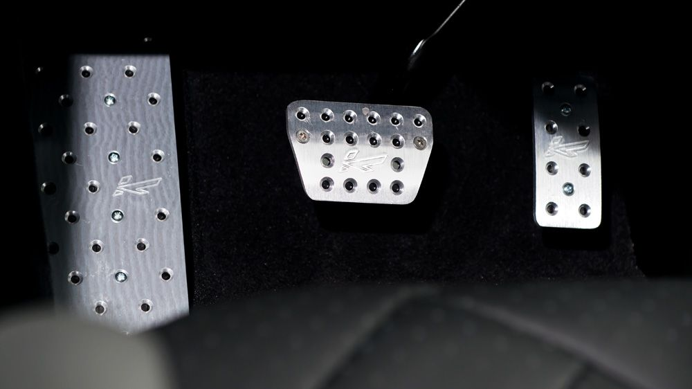 Алюминиевые педали (Range Rover Sport 2014)
