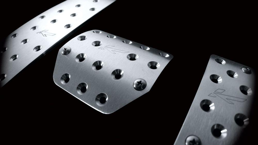 Алюминиевые педали (Jeep Wrangler)