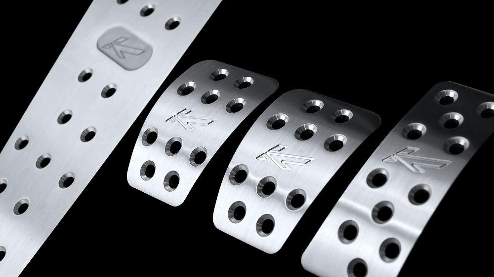 Алюминиевые педали (AUDI ТТ)
