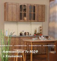 """Кухонный гарнитур """"Александрия 7А""""Пластик / МДФ 1,7 м."""