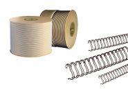 Спираль для переплёта в бобине 1/4, d6,4 мм, шаг 3:1, ЧЕРНЫЙ