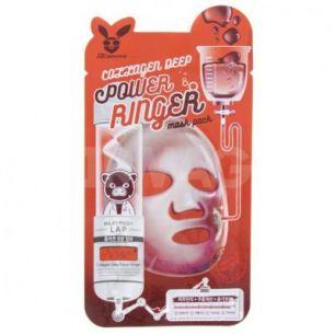 """""""ЕЛЗ"""" POWER RINGER/COLLAGEN DEEP POWER RING MASK PACK  Маска для лица тканевая 23мл"""