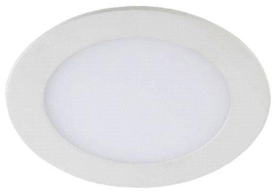 Светильник встраиваемый светодиодный ЭРА св/д 9W 4000К круг 220-240V 4K белый IP20 LED 1-9