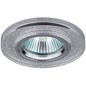 Светильник встраиваемый ЭРА DK7 CH/SHSL 50W MR16 GU5.3 стекло круглое d95 серебр.блеск/хром