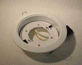 Светильник встраиваемый Ecola GX70-H5 Белый 53x151 FW70H5ECB
