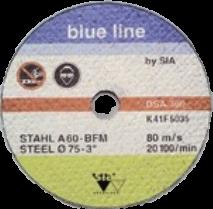 Sia Обдирочный круг для работы по металлу, 125мм., (упаковка 10 шт.)
