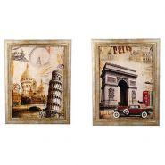 Картина, 35х45 см, в деревянной рамке, 2 вида (арт. 219697)