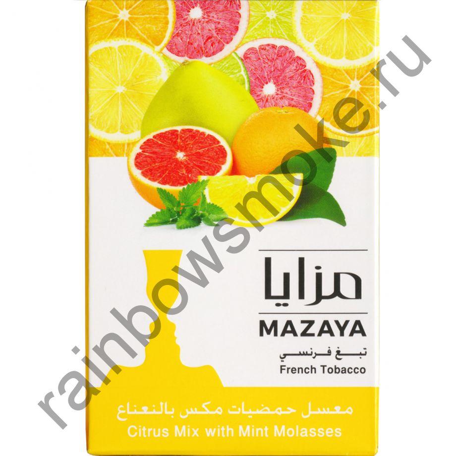Mazaya 1 кг - Citrus Mix with Mint (Цитрусовый микс с Мятой)